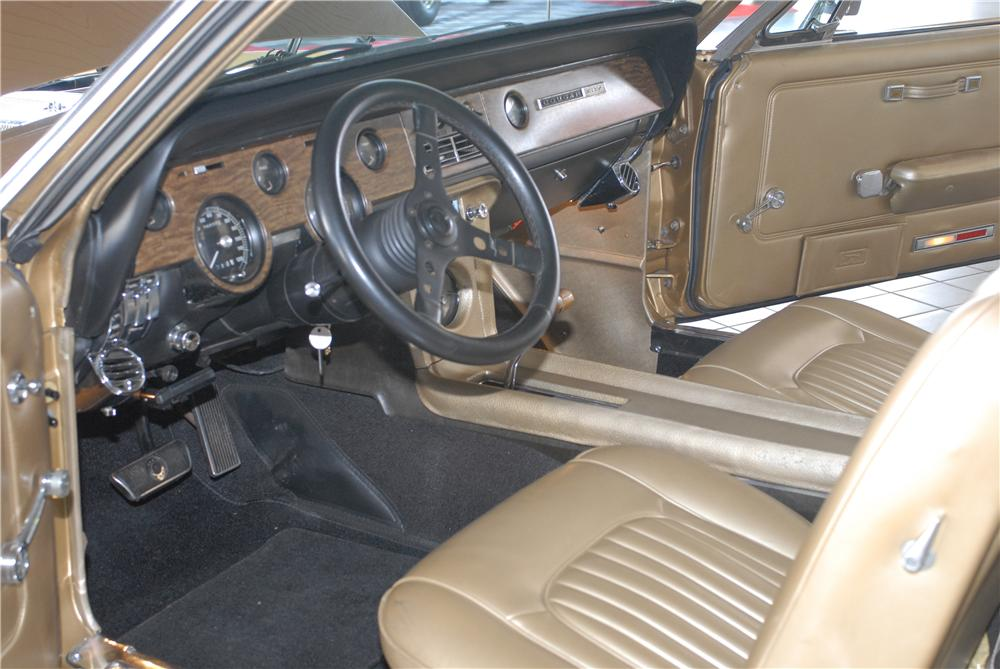 1968 MERCURY COUGAR XR7 COUPE - Interior - 49676
