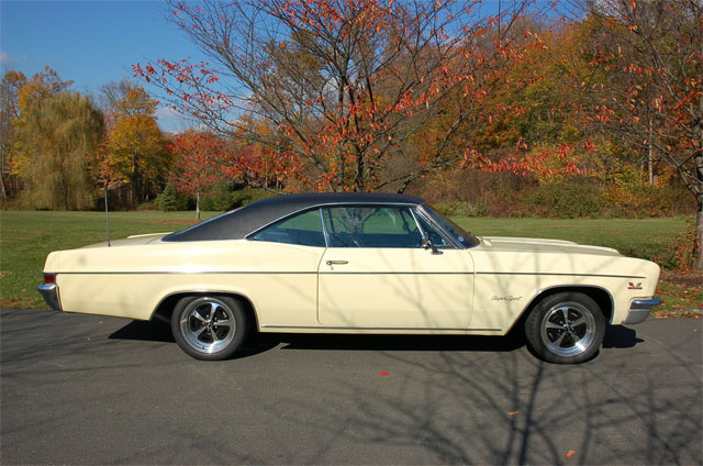 1966 CHEVROLET IMPALA SS 427 COUPE - Side Profile - 49701