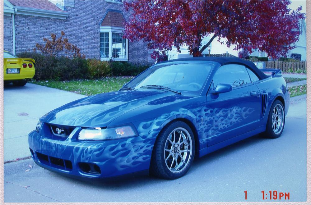 2003 FORD MUSTANG COBRA CONVERTIBLE - Front 3/4 - 49703