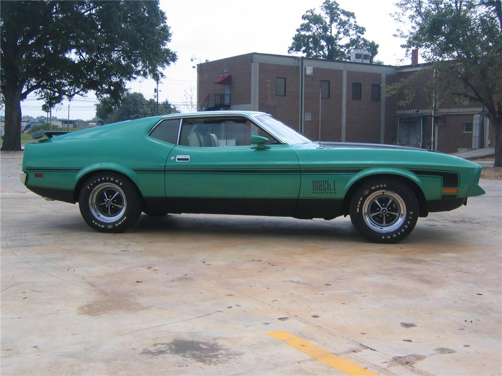 1971 FORD MUSTANG MACH 1 FASTBACK - Misc 1 - 49706