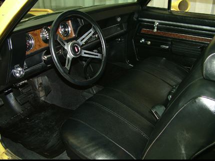 1970 OLDSMOBILE RALLYE 350 COUPE - Interior - 49710