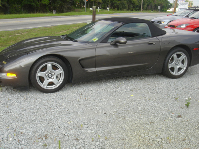 1998 CHEVROLET CORVETTE CONVERTIBLE - Side Profile - 49716