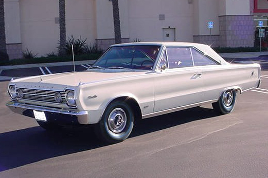 1966 PLYMOUTH SATELLITE 2 DOOR HARDTOP - Front 3/4 - 49719