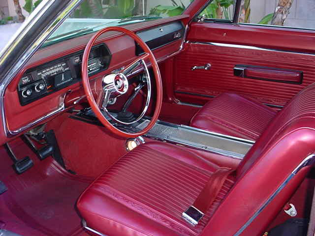 1966 PLYMOUTH SATELLITE 2 DOOR HARDTOP - Interior - 49719