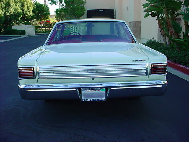 1966 PLYMOUTH SATELLITE 2 DOOR HARDTOP - Misc 1 - 49719