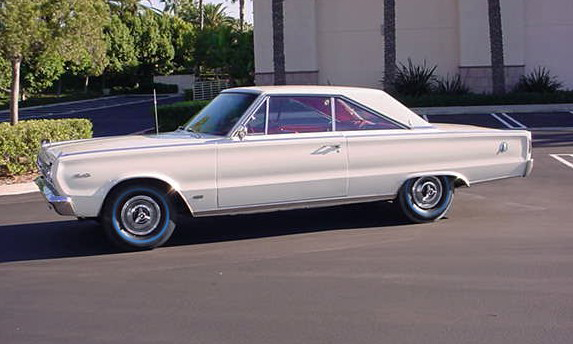 1966 PLYMOUTH SATELLITE 2 DOOR HARDTOP - Side Profile - 49719