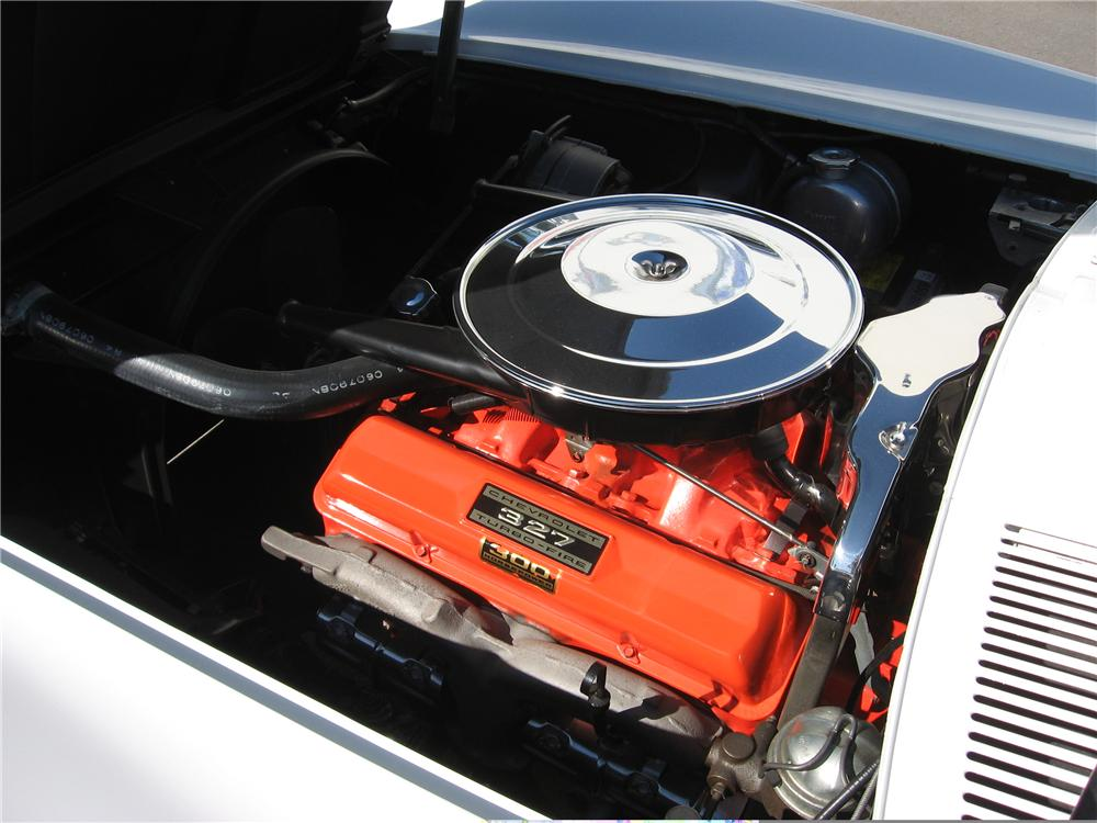 1964 CHEVROLET CORVETTE COUPE - Engine - 49728