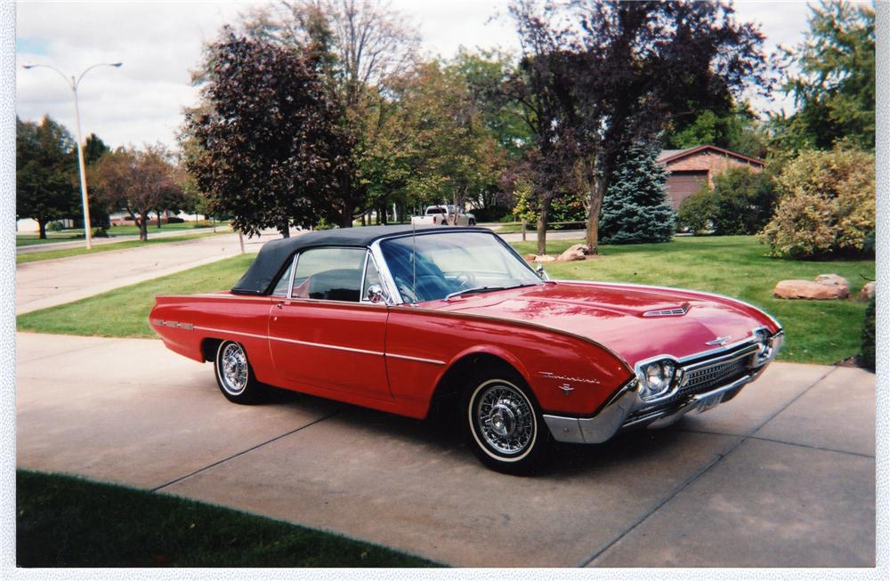 1962 FORD THUNDERBIRD SPORTS ROADSTER - Front 3/4 - 49729
