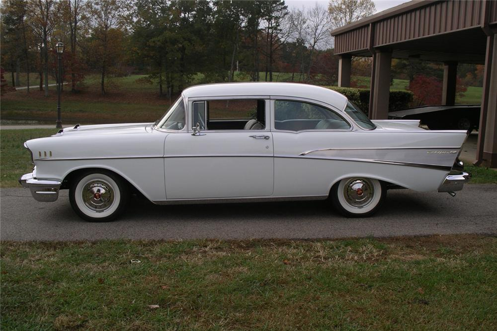 1957 chevrolet bel air 2 door sedan 49735