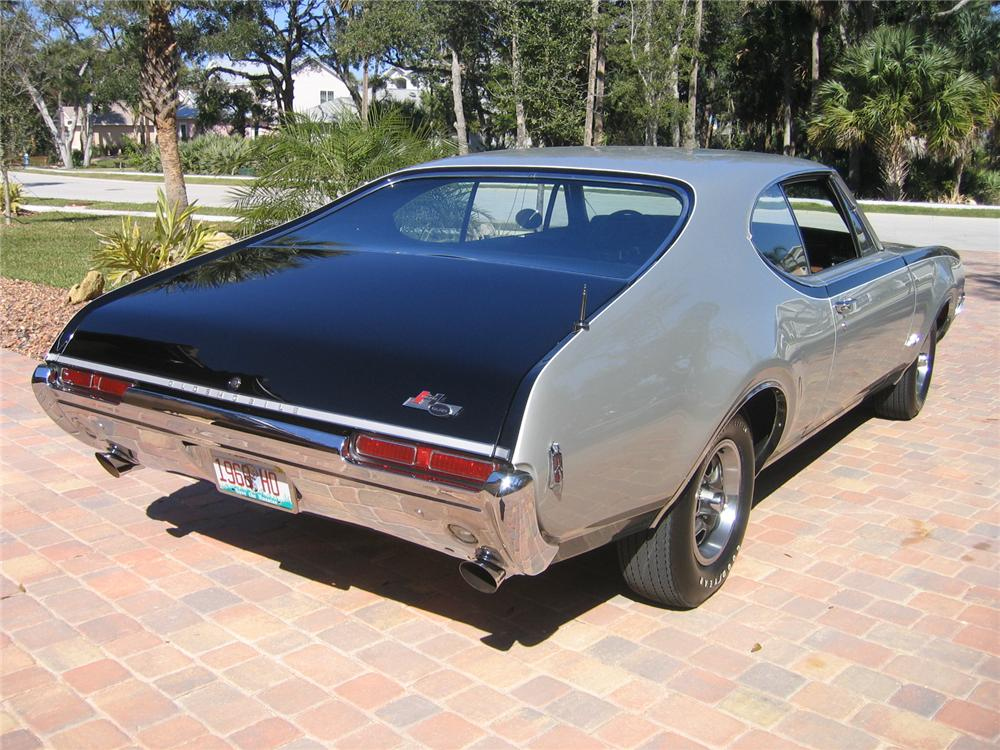 1968 OLDSMOBILE HURST COUPE - Rear 3/4 - 49737