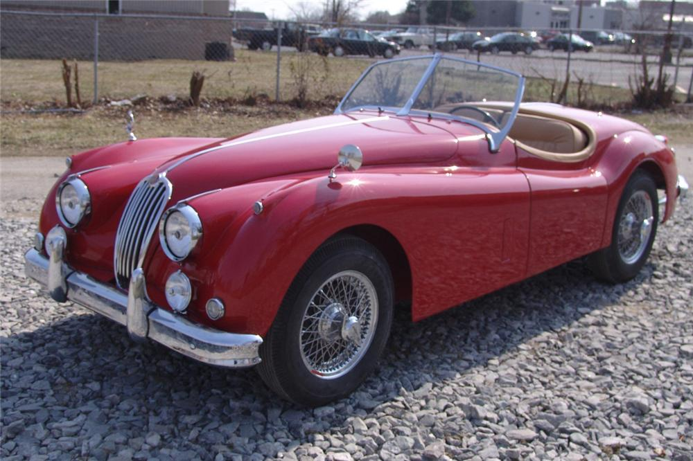 1957 JAGUAR XK 140 MC 2 DOOR - Front 3/4 - 49745