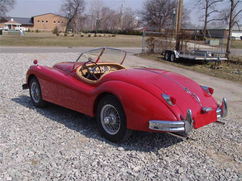 1957 JAGUAR XK 140 MC 2 DOOR - Rear 3/4 - 49745