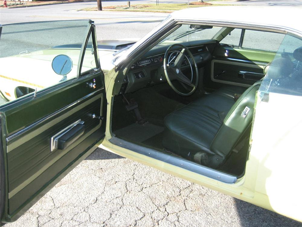 1970 PLYMOUTH ROAD RUNNER RE-CREATION COUPE - Interior - 49753