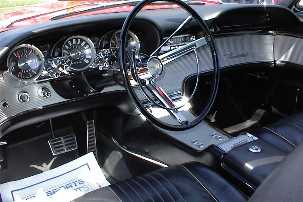 1963 ford thunderbird convertible 49756. Black Bedroom Furniture Sets. Home Design Ideas