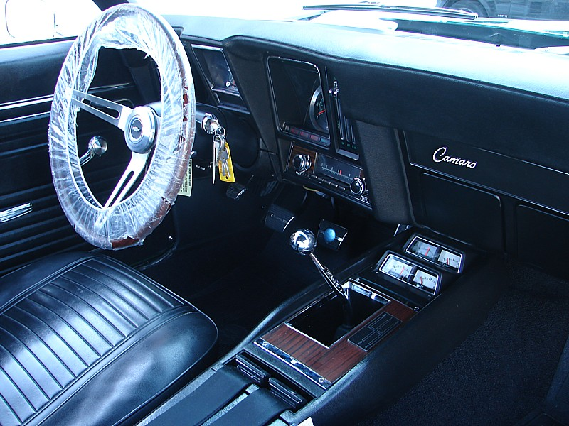 1969 CHEVROLET CAMARO Z/28 RS COUPE - Interior - 49758