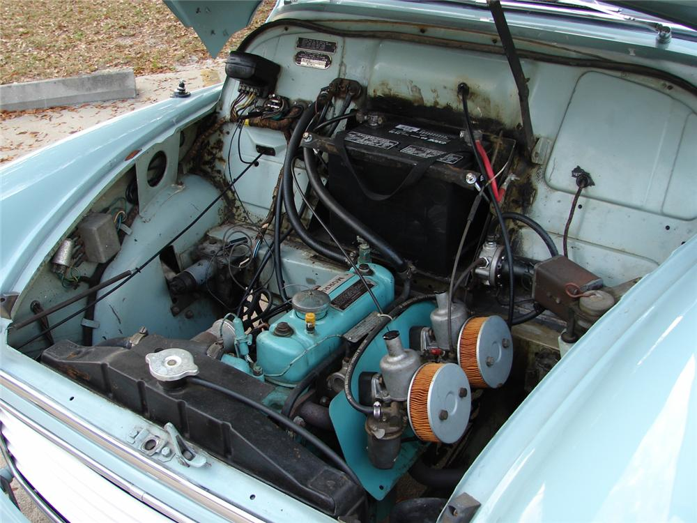 1960 MORRIS MINOR CONVERTIBLE - Engine - 49763