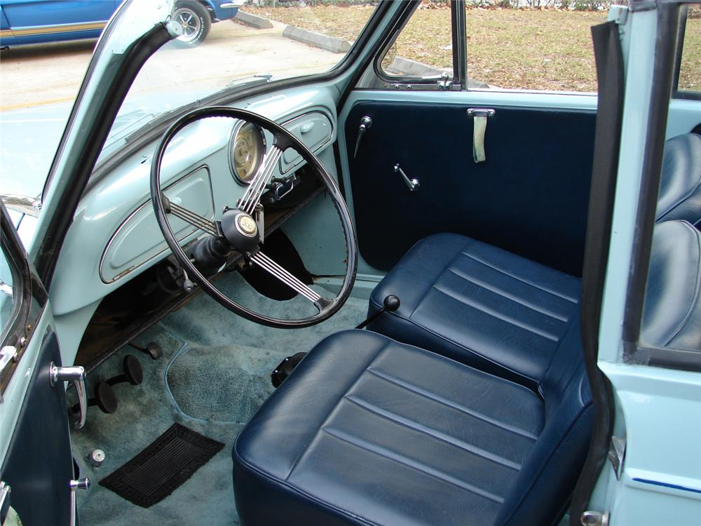 1960 MORRIS MINOR CONVERTIBLE - Interior - 49763