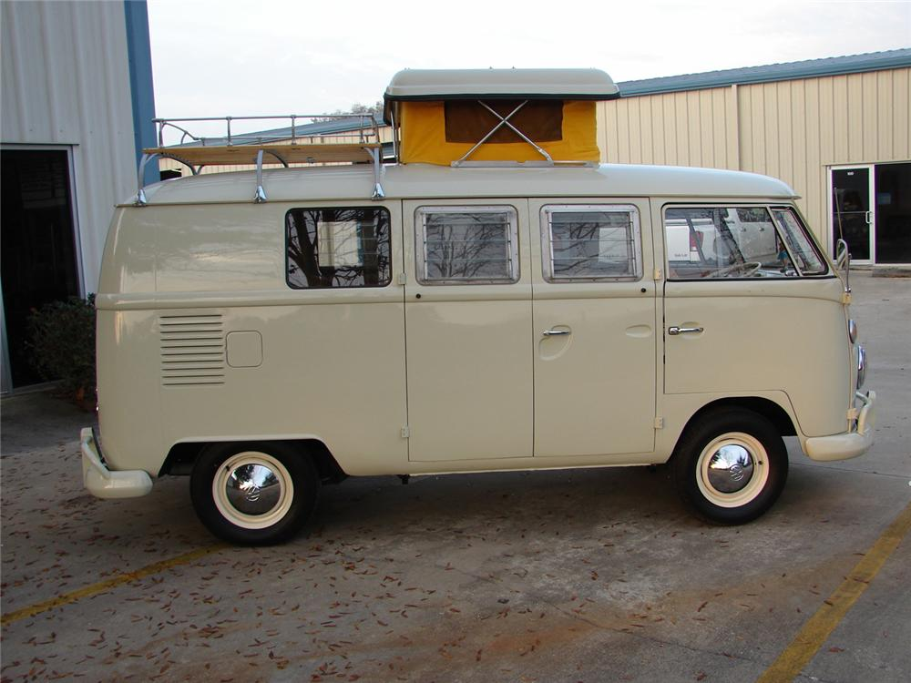 1967 VOLKSWAGEN WESTFALIA MICROBUS - Side Profile - 49764