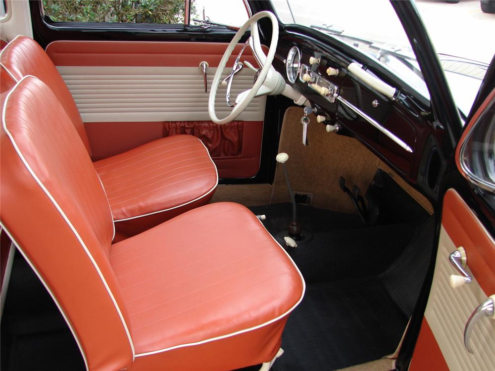 1963 VOLKSWAGEN BEETLE 2 DOOR SEDAN - Interior - 49765