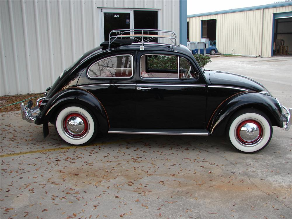 1963 VOLKSWAGEN BEETLE 2 DOOR SEDAN - Side Profile - 49765