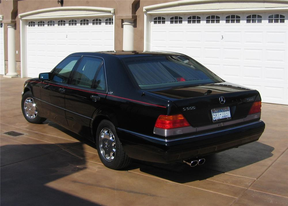 1995 mercedes benz s600 4 door sedan 49766. Black Bedroom Furniture Sets. Home Design Ideas