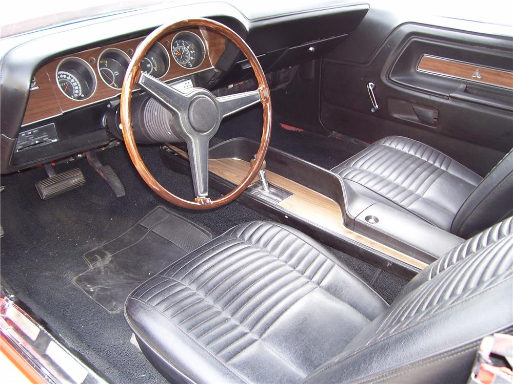 1970 DODGE CHALLENGER CONVERTIBLE - Interior - 49768