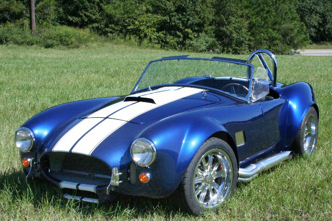 1965 FACTORY FIVE SHELBY COBRA RE-CREATION   - Front 3/4 - 49772