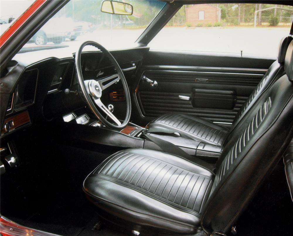 1969 CHEVROLET CAMARO Z/28 RS COUPE - Interior - 49777