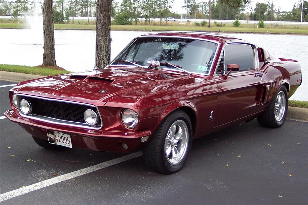 1968 FORD MUSTANG FASTBACK - Front 3/4 - 49781