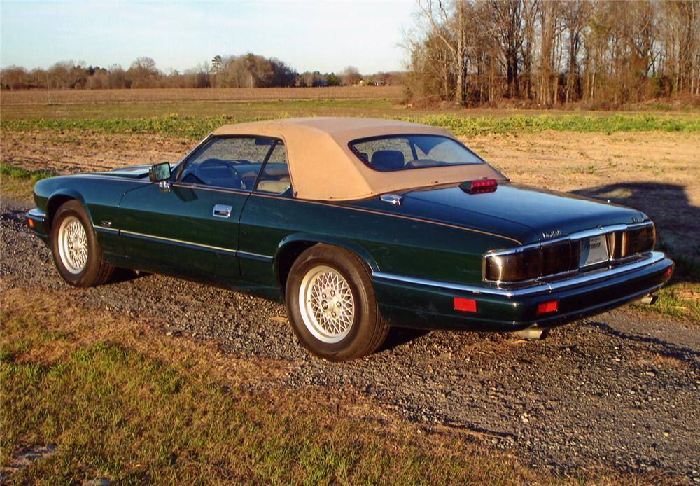 1994 JAGUAR XJS CONVERTIBLE - Rear 3/4 - 49789