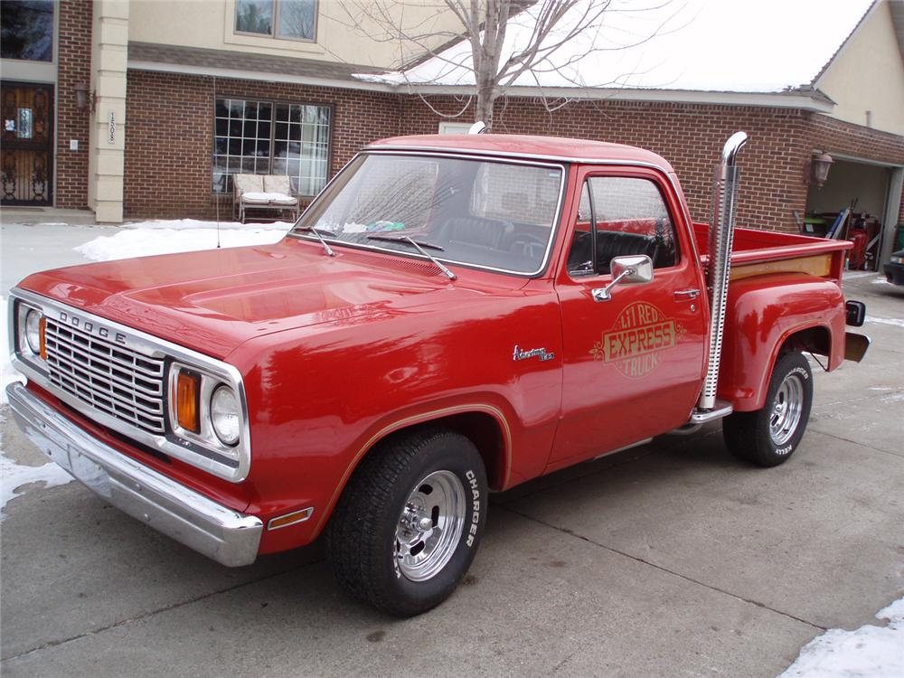 1978 dodge lil red express pickup front 3 4 49797. Cars Review. Best American Auto & Cars Review
