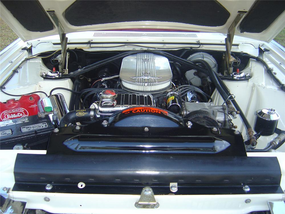 1963 FORD THUNDERBIRD ROADSTER - Engine - 49844
