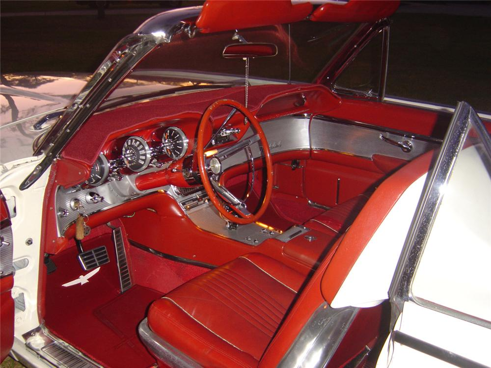 1963 FORD THUNDERBIRD ROADSTER - Interior - 49844