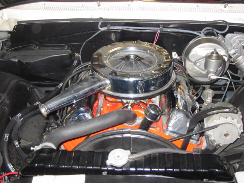 1963 CHEVROLET IMPALA 2 DOOR HARDTOP - Engine - 49847