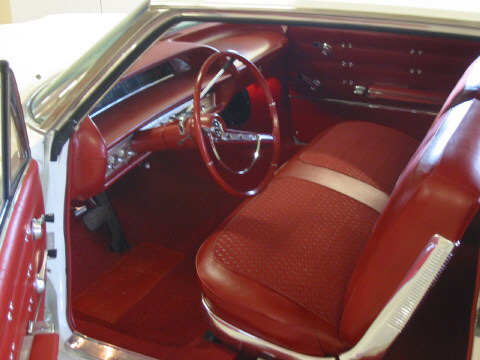 1963 CHEVROLET IMPALA 2 DOOR HARDTOP - Interior - 49847