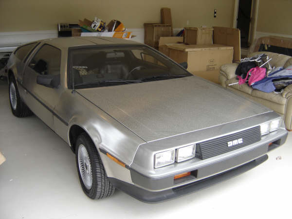 1981 DELOREAN COUPE - Front 3/4 - 49849