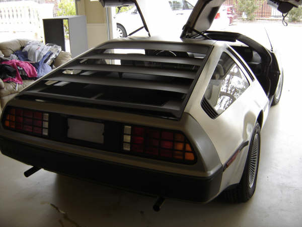 1981 DELOREAN COUPE - Rear 3/4 - 49849