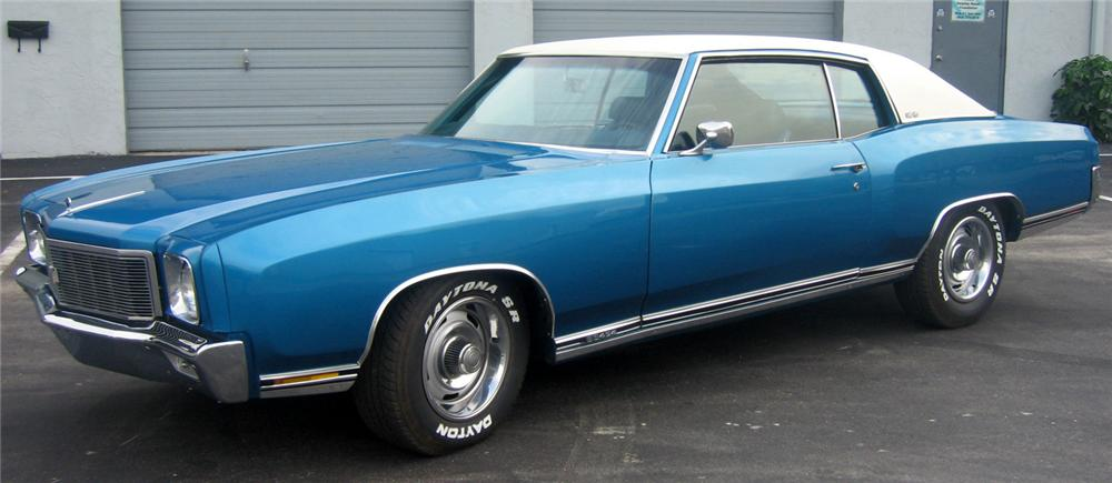 1971 CHEVROLET MONTE CARLO SS 454 - Side Profile - 49850