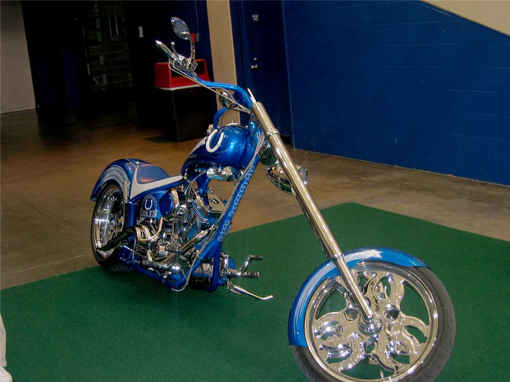 2004 CIRCLE CITY CUSTOM CHOPPER - Rear 3/4 - 49857