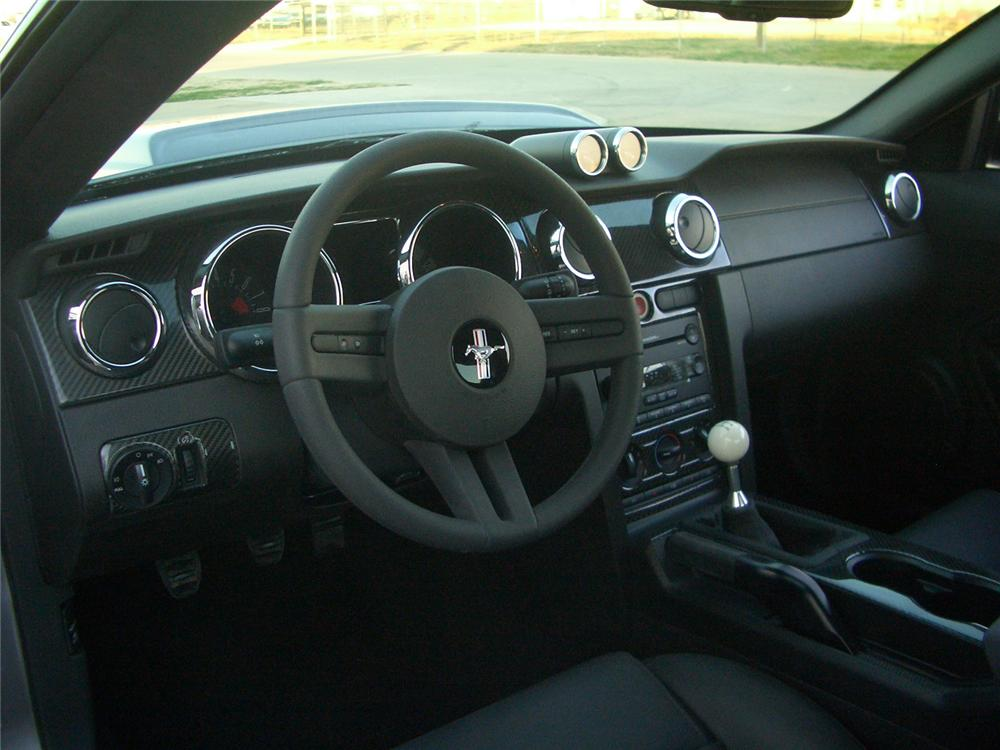 ... 2007 FORD MUSTANG GT CUSTOM FASTBACK   Interior   49864 ...
