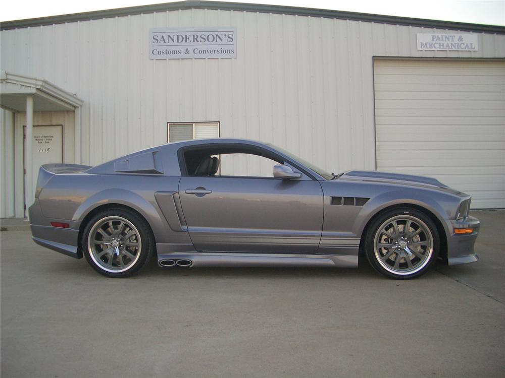 2007 FORD MUSTANG GT CUSTOM FASTBACK - Side Profile - 49864