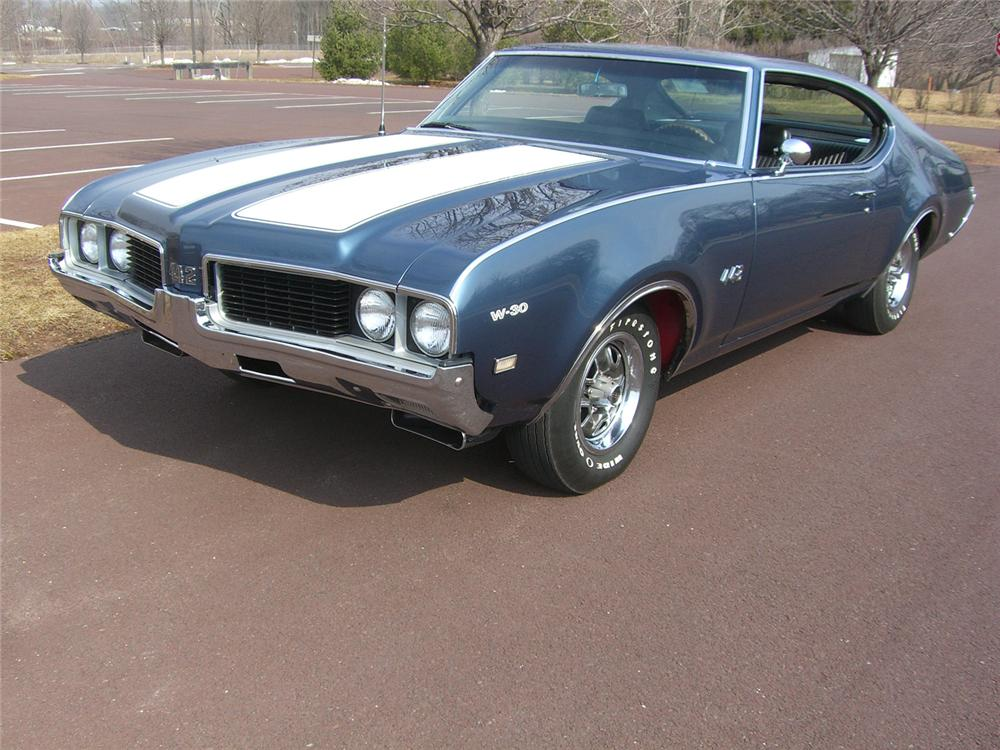 1969 OLDSMOBILE 442 W30 COUPE - Front 3/4 - 49866