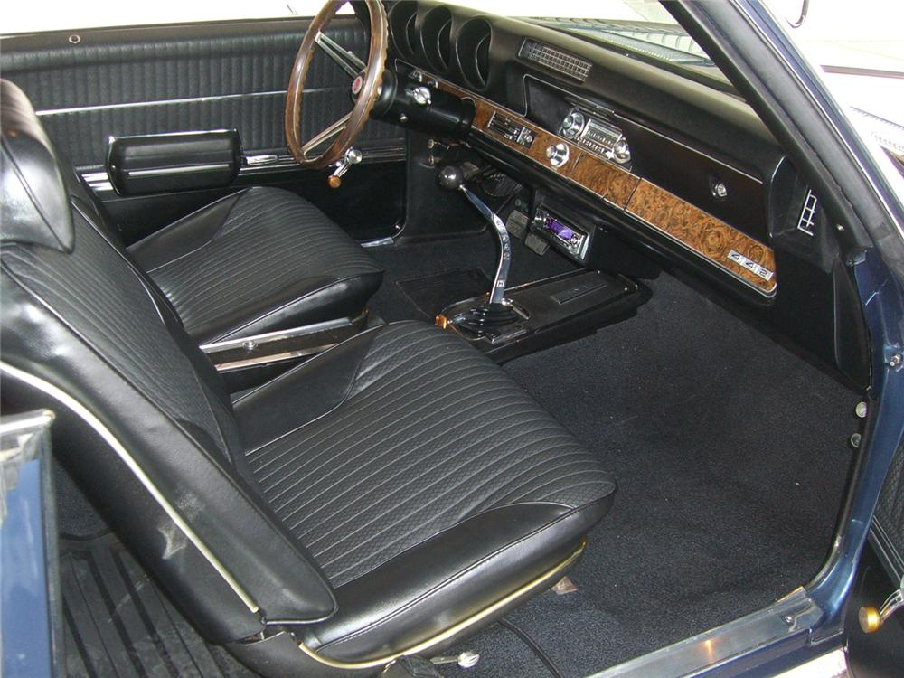 1969 OLDSMOBILE 442 W30 COUPE - Interior - 49866