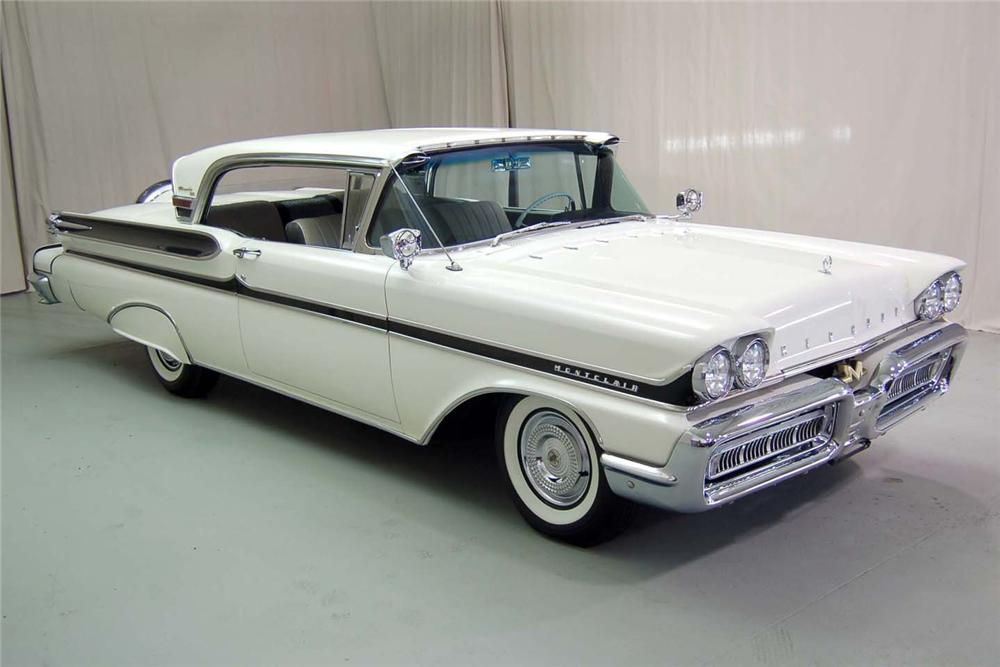 1958 MERCURY TURNPIKE CRUISER 2 DOOR HARDTOP - Front 3/4 - 49875