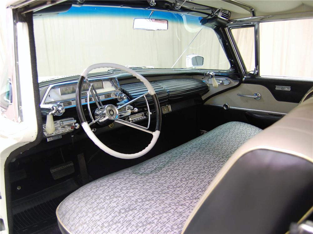 1958 MERCURY TURNPIKE CRUISER 2 DOOR HARDTOP - Interior - 49875