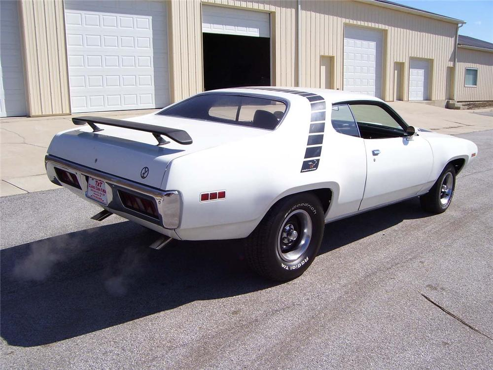 1971 PLYMOUTH SATELLITE CUSTOM 2 DOOR HARDTOP - Rear 3/4 - 49910