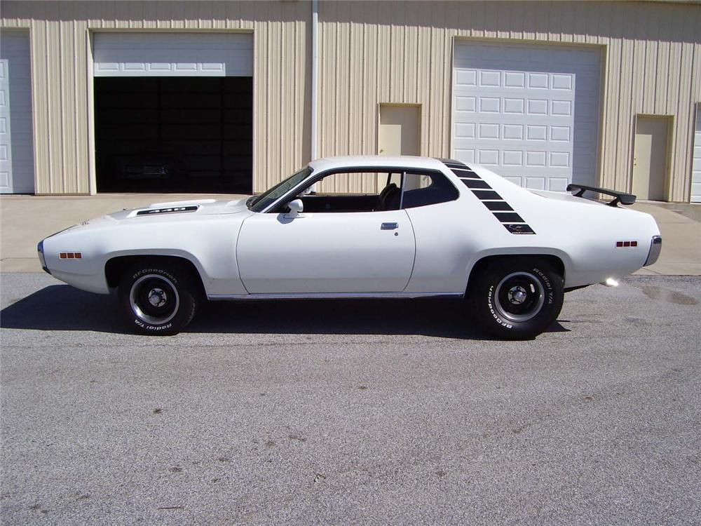 1971 PLYMOUTH SATELLITE CUSTOM 2 DOOR HARDTOP - Side Profile - 49910