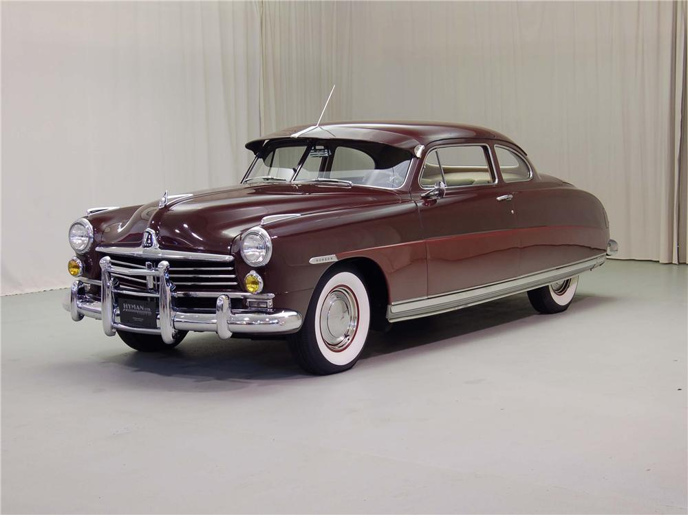1949 HUDSON COMMODORE 2 DOOR COUPE - Front 3/4 - 49930