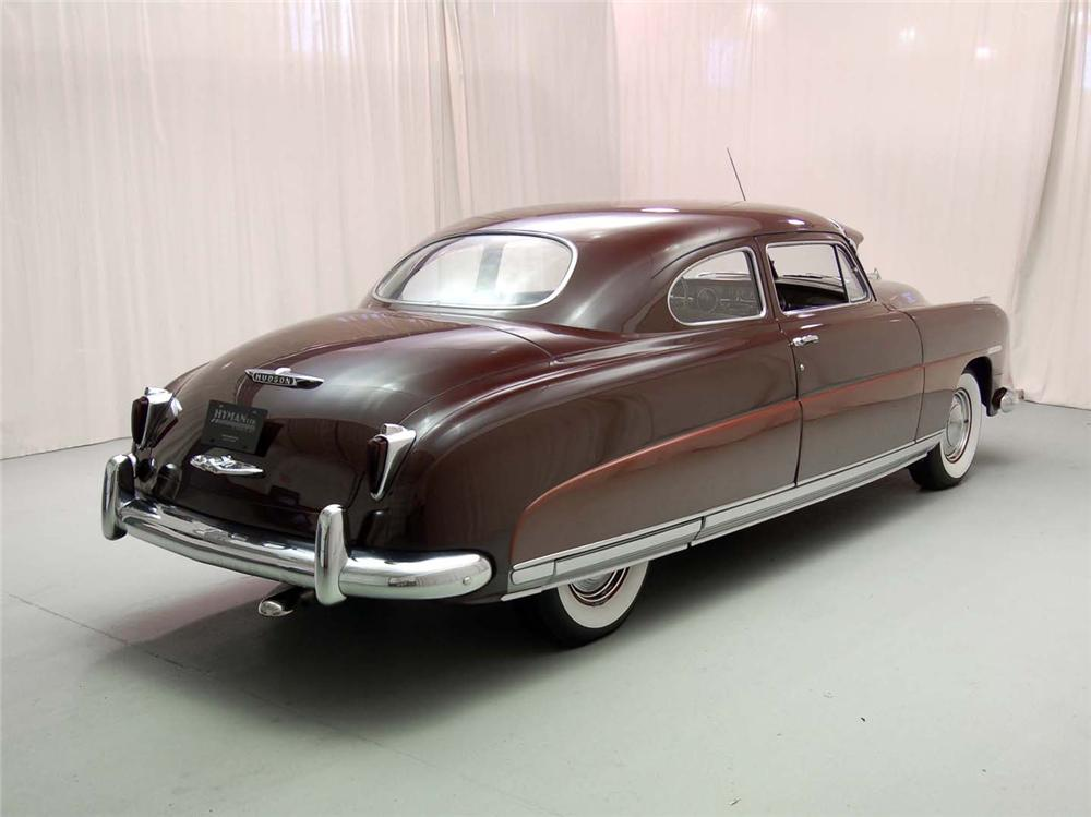 1949 HUDSON COMMODORE 2 DOOR COUPE - Rear 3/4 - 49930
