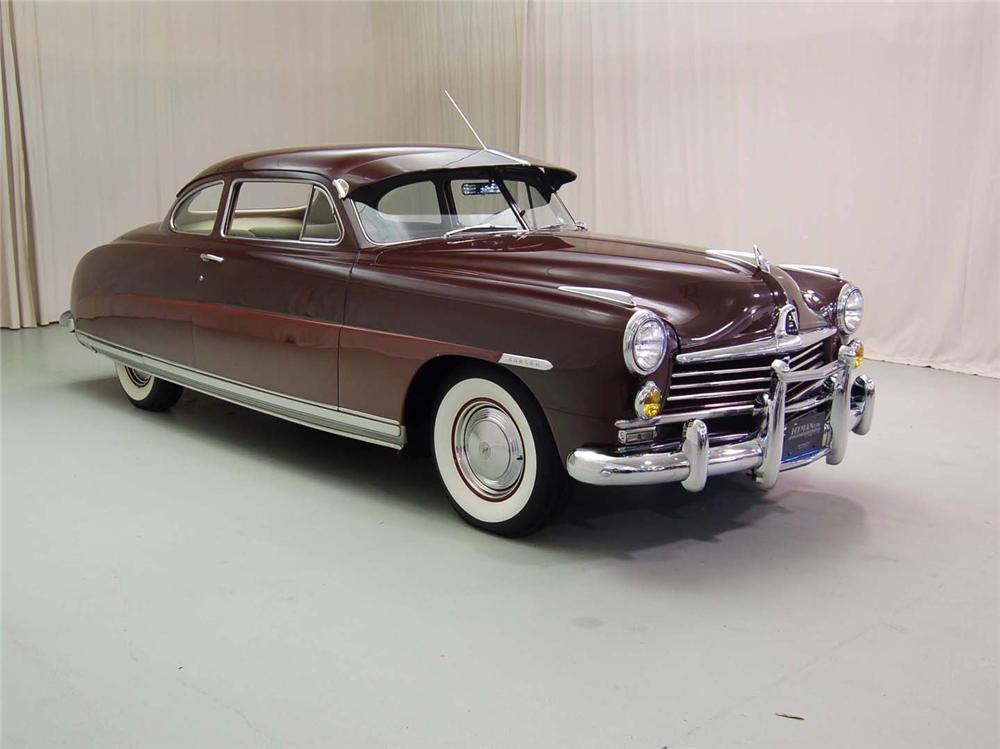 1949 HUDSON COMMODORE 2 DOOR COUPE - Side Profile - 49930